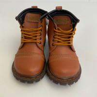 Boots Shoes Brown Bukan Docmart Sepatu Anak