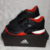 Sepatu Tenis Adidas Barricade Black Red