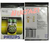 batre recharge philips AA