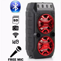 SPEAKER BLUETOOTH SX-Y2006 BONUS MIC KARAOKE/SALON AKTIF WIRELESS