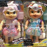 Boneka Baby Alive Tinycorns Baby Doll Cat And Panda Original Limited