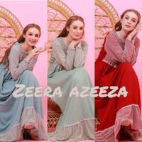 Zeera Dress Gamis Azeza Ori. Daster Arab India Dubai Abaya Baju Muslim