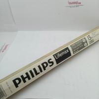 lampu neon TL philips 15watt panjang 45cm putih