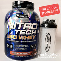 Nitrotech 100% Iso Whey 5 Lbs BPOM Muscletech Whey Protein Isolate