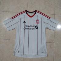 baju bola asli Liverpool away 10/11
