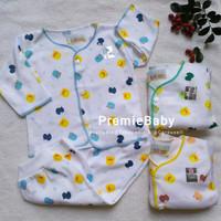 Setelan Baju Bayi Panjang Katun Newborn Shankusen (0-3m) Piyo