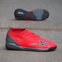Sepatu Futsal Specs Swervo Galactica IN Red Black
