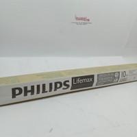 lampu neon TL philips 10watt panjang 30cm putih