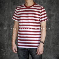 baju stripe original baju murah baju belang baju pria kaos murah ori