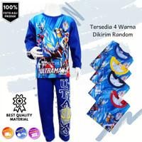 Baju Setelan Anak Piyama Ultraman Panjang Murah - Kaos Anak Superhero