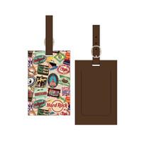 Hardrock Cafe - ORI - Luggage Tag - passport print