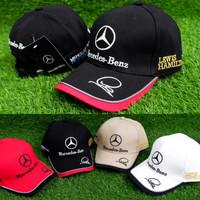 Topi Baseball Mercedes Benz | Topi Mobil Sport Balap Import