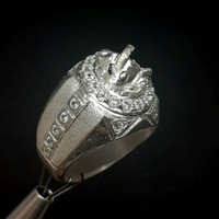 cincin perak / ring silver / emban / model gigi bajing