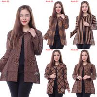 Blouse batik/Baju Batik Wanita/Blus Bolero Batik/Baju Kantor BL - 26