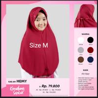 Hemy M Rabbani Kerudung Sekolah Jilbab Hijab Bergo Khimar Scarf Best