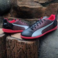 Sepatu Futsal Puma Adreno 3 IT Black Peach