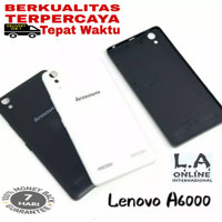 BACKDOOR / BACK COVER/ TUTUP BELAKANG BATERAI LENOVO A6000/6000+