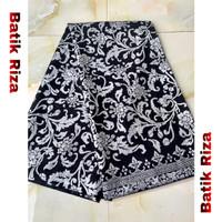 kain batik prada silver A04 / Batik Riza