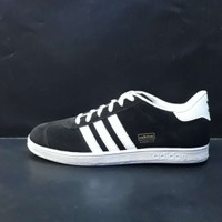 Sepatu adidas gazelle Ukuran 39 - 45 hitam list putih Ukuran - 42