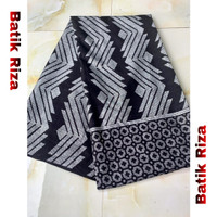 kain batik prada silver A011 / Batik Riza
