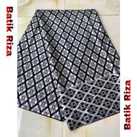 kain batik prada silver A013 / Batik Riza