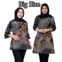 Baju Batik Wanita BIG SIZE JUMBO XXL XXXL 4L 5L Motif Japanese