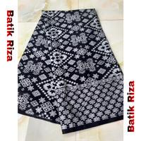 kain batik prada silver A017 / Batik Riza