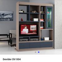 Penyekat / pembatas ruangan kaca   DV 004