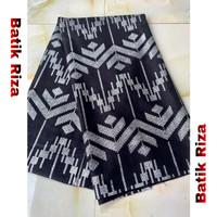 kain batik prada silver A08 / Batik Riza