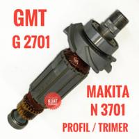 Armature GMT G 2701 angker mesin profil / trimer Makita N 3701