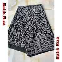 kain batik prada silver A01 - Batik Riza