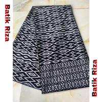 kain batik prada silver A014 / Batik Riza