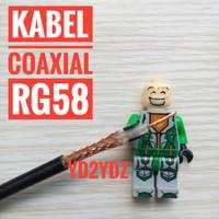 kabel coaxial antenna rg-58 digitalpro rg58 ecer meteran radio ht rig