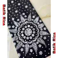 kain batik prada silver A06 / Batik Riza