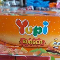 Yupi Burger 1 box isi 24 pcs / permen jelly [READY]