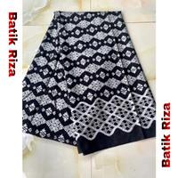 kain batik prada silver A05 / Batik Riza
