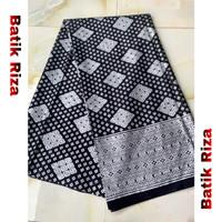 kain batik prada silver A010 / Batik Riza