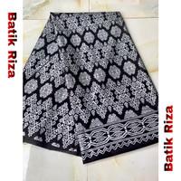 kain batik prada silver A012 / Batik Riza