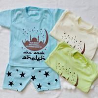 Setelan Bagus Baju Baby Boy Murah Jakarta Usia 1-12 Bulan (3 warna)
