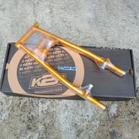 Swing Arm Satria Fu Dan Raider K2R Gold Coak Arm Oval By Kawahara
