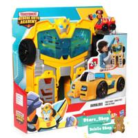 Mainan Transformer Rescue Bots Academy Bumblebee Track Tower Original