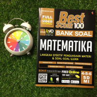 Best Score 100 Bank Soal Matematika SD/MI Kelas 4 5 6
