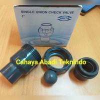 Ball check valve pvc single 1/2inch - True union ball singel watermur