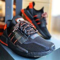 Sepatu Adidas NMD R1 V2 Black Red Premium