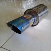 Knalpot Mobil 5Zigen biru stainles