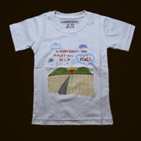 Baju Anak Kaos Band Koil Negara Bodoh Warna Putih