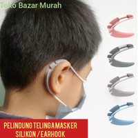 Pelindung telinga silikon/pereda sakit telinga masker