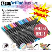 PROMO MURAH Bolpen Writing Pen Artline Supreme Fine Pen EFPS-200 (25)