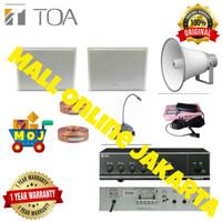 Paket sound system toa masjid audio sistem mesjid mushola type 2