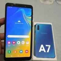 Samsung Galaxy A7 (2018) Blue 4/64GB Resmi Second